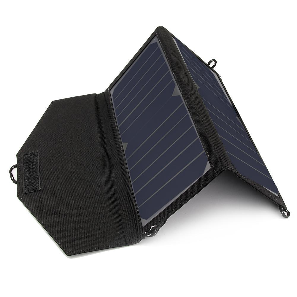 14 W 5 V Sunpower Pliant le Panneau Solaire Chargeur Portable Double USB Chargeur Solaire pour Téléphone Portable Haute Efficacité Livraison Gratuite