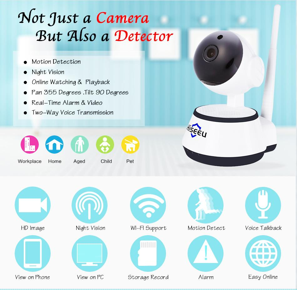 Sricam Security IP Network Camera C7824WIP 720P Wireless Wifi Night Vision MA