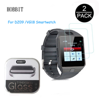 2Pack For DZ09 Smartwatch VG18 0.3mm 2.5D Tempered Glass Screen Protector for Vivoactive GPS SmartWatch Anti-scratch Clear Film