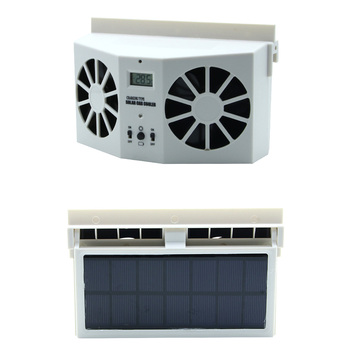 Мини-кондиционер для автомобиля, вентилятор на солнечных батареях, автомобильный вентиляционный вентилятор