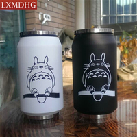 2017 Creative Cartoon Vacuum Thermos Mug My Neighbor Totoro Can Of Cola Novelty Stainless Steel Totoro