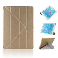 Case For IPad Air 2 Flip PU Leather Cover For IPad Air Smart Stand Case