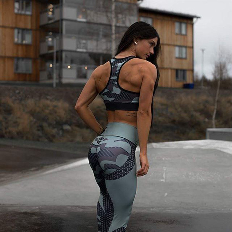New Fashion Women Fitness   leggings   Woman Camouflage work out Sweatpant pants Femme leggins Sweatpants athleisure jeggings