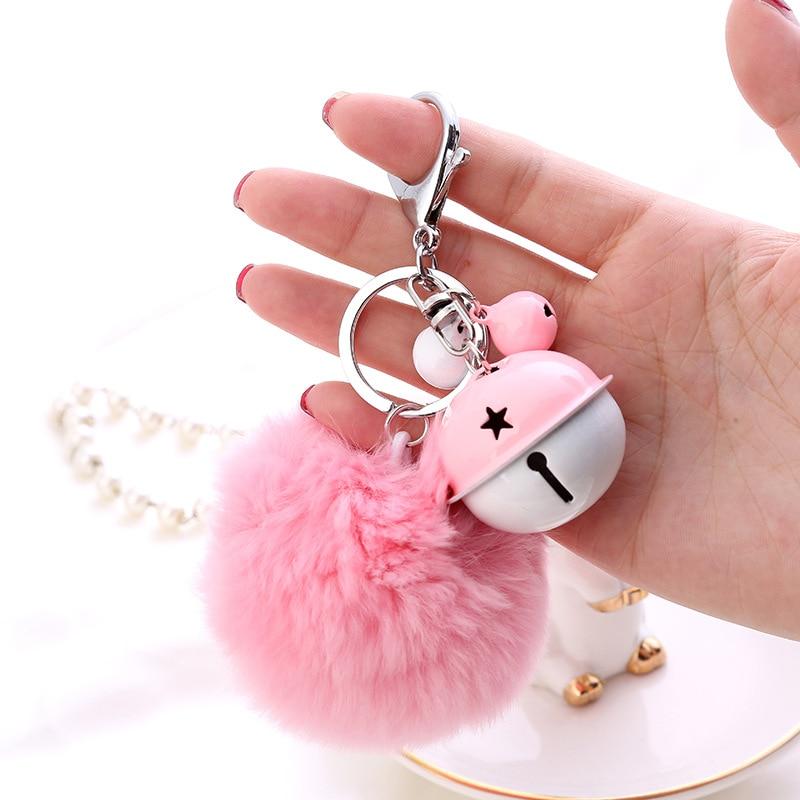Fur Ball Key Chain (14)