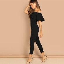 Women's Off Shoulders Elegant Office Jumpsuit
