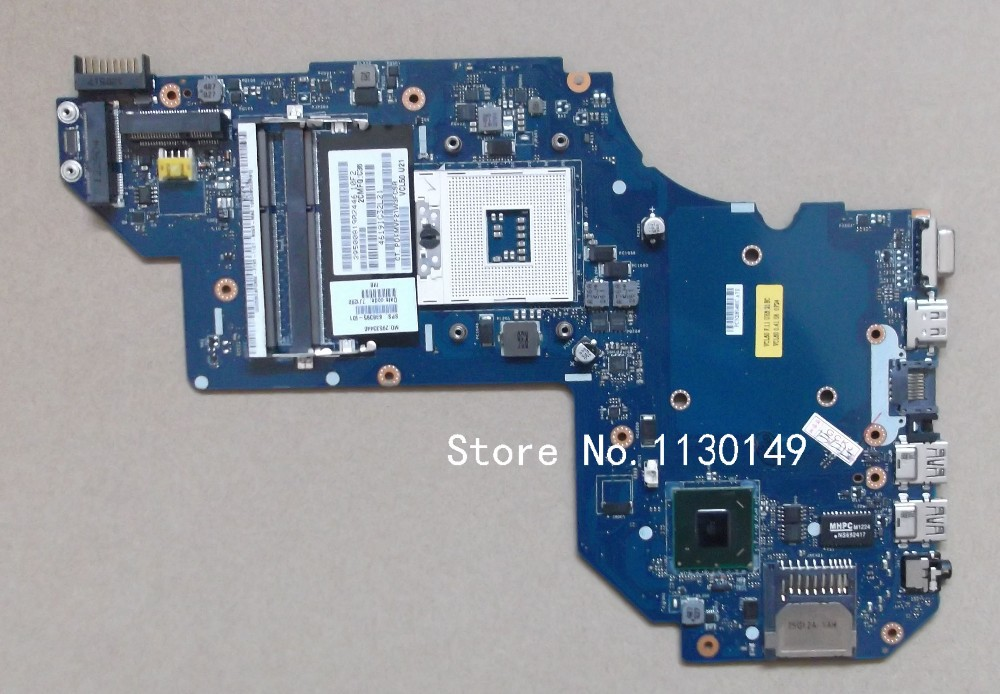 698395-501 for HP M6 M6-1000 M6-1125dx laptop motherboard LA-8713P 698395-001 100% full tested OK Free Shipping laptop motherboard for hp dv4 698395 001 system mainboard fully tested and working well