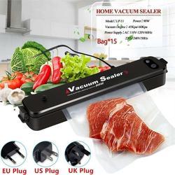 New Brand Vacuum Sealer, Food Vacuum Sealer Machine, Compact Automatic Vacuum Sealing System for Dry & Moist Foods Preserva