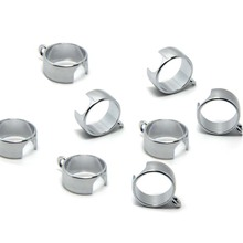 E-XY 10Pcs/Lot Lanyard Necklace Ring Electronic cigarette EGO Series Lanyard Ring Carrying Trim Ring