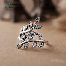 2015 Primavera 925 Deja Anillos de Plata Esterlina Para Las Mujeres European Brand Engagement Ring Finger SH0570 Al Por Mayor Envío Gratuito