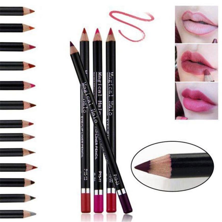 2017 Cosmetic Lip Liner Lipliner Pen Pencil Fashion Makeup Waterproof Hot lipstick