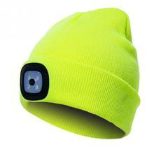 Unisex Beanie LED Lighted Cap