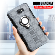 Cover For Samsung Galaxy J7 Prime 2 2018 Silicone Shockproof Phone Case Armor Back Ring Stand
