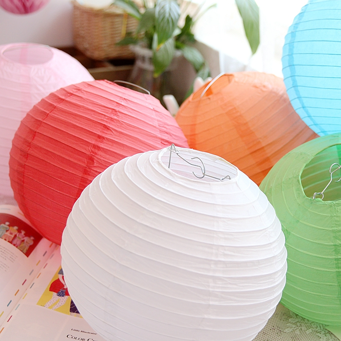 New 1pc Chinese Round Paper Lantern 4
