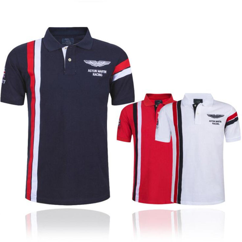 New 2019 Air Force one men's   Polo   shirt men's fashion business casual men's   polo   shirt short-sleeved breathable   polo   shirt