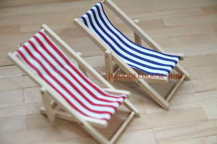 Mini Boneka Mini tanah liat Siwan adegan dengan miniatur furniture pantai berjemur