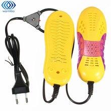 Новые 220 В 10 Вт ЕС Plug гоночный автомобиль Форма voilet свет Сушилки для обуви ноги защитника загрузки Запах Дезодорант устройства Обувь сушилка нагреватель