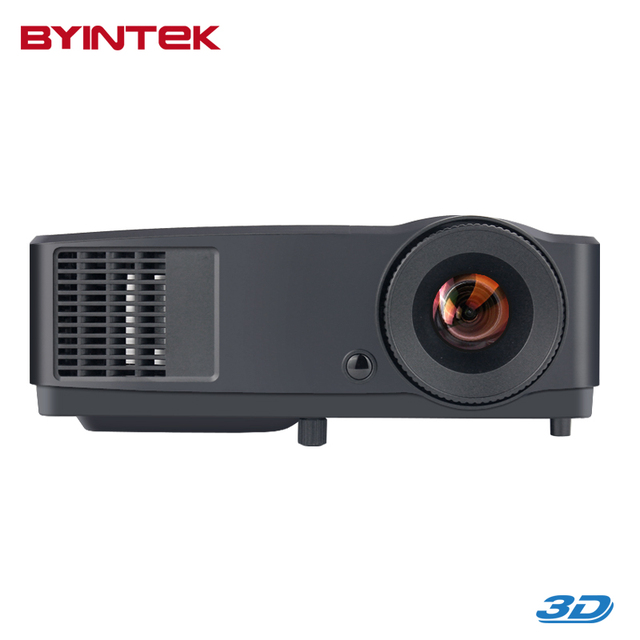 3D Cinema PC DVD VGA Digital 1080P Video Hologram Data Show Rear DLP Home Theater Movie Daylight Projector For school office