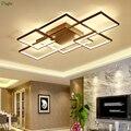 Современный квадратный алюминиевый светодиодный потолочный светильник s  мягкая акриловая маска  светодиодный потолочный светильник для г...