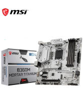 Nueva placa base de titanio MSI B360M de mortero 4 * SATA 6 Gb/s LGA1151 8-Channel7.1 HD Audio DDR4 2666HMz Intel 1219 Gigabi CP Chipset(China)