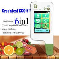 GREENTEST ECO 5F Digital Cibo Nitrato Tester metro concentrazione di rapida analizzatore di Frutta/verdura/carne/carne/pesce nitrato metro