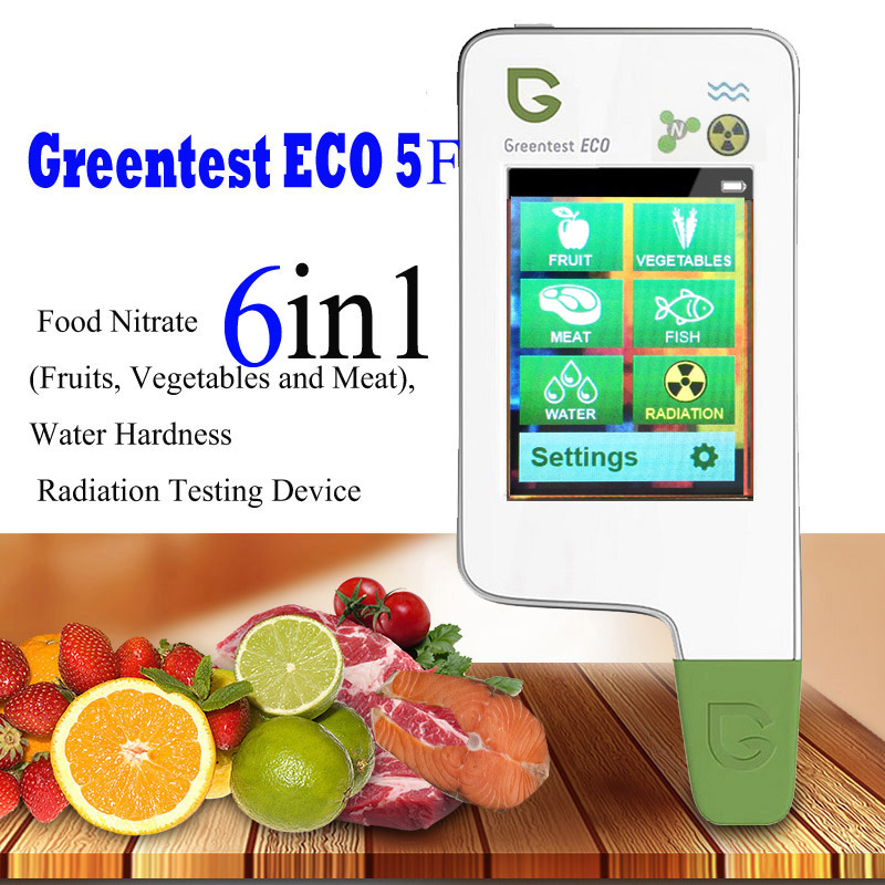 GREENTEST ECO 5F Digital Food Nitrate Tester concentration meter rapid analyzer Fruit vegetable meat fish nitrate