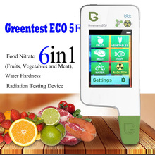GREENTEST ECO 5F Digital Food Nitrate Tester concentration meter rapid analyzer Fruit / vegetable /meat / fish nitrate meter greentest eco f5 digital food nitrate tester concentration meter chinese english russian arabic language optional nitrate tester