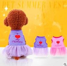 Pet Clothing Dog Dress Pet Clothes Spring And Summer Tutu Dress