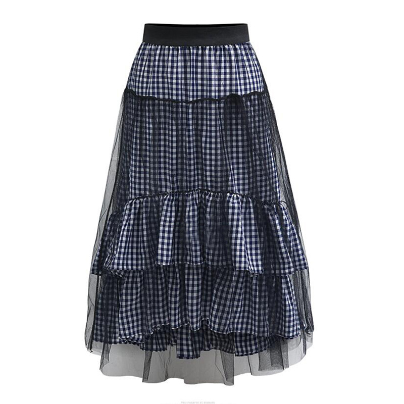Popular Brown Plaid Skirt-Buy Cheap Brown Plaid Skirt lots from ...