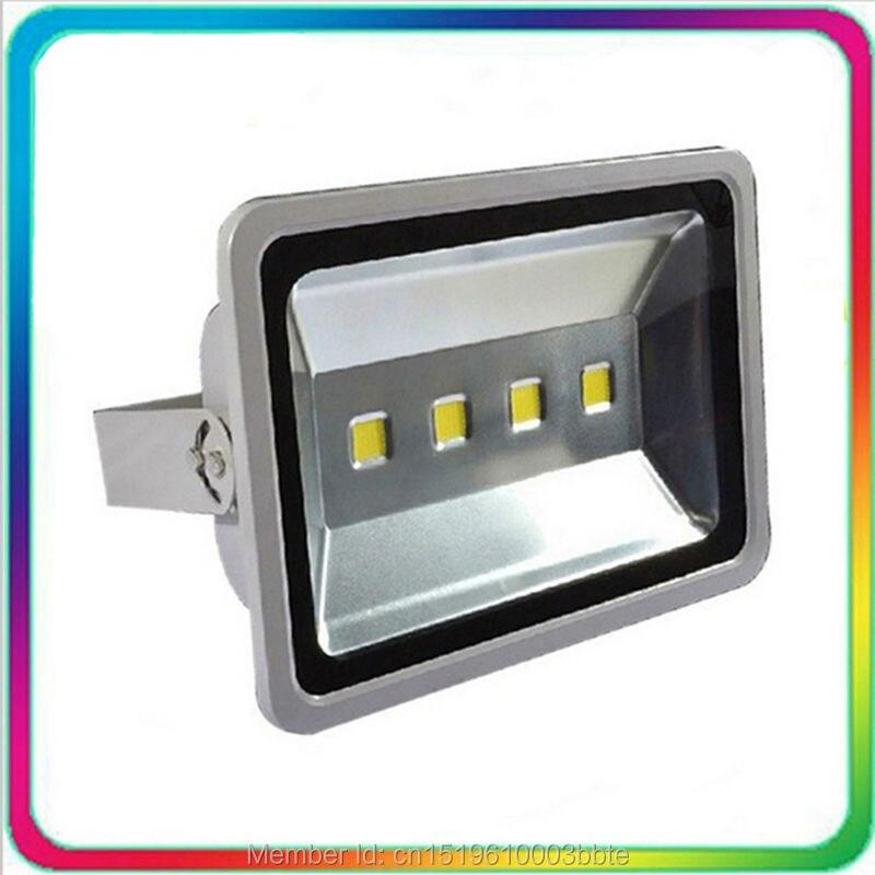 4PCS Warranty 3 Years 100-110LM/W Waterproof Outdoor LED Flood Light LED Floodlight 200W Spotlight Tunnel Bulb