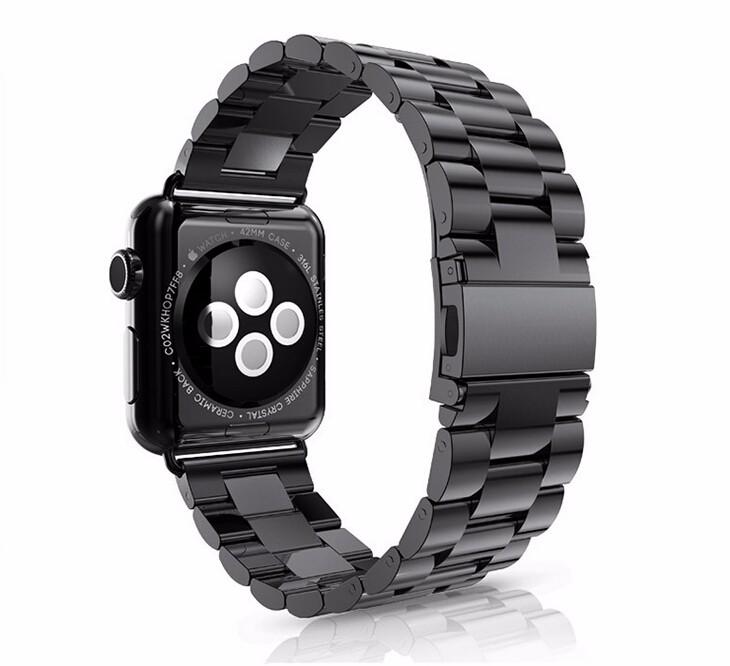 Prix pour YIFALIAN Haute Qualité En Acier Inoxydable lien bracelet band & De Luxe inoxydable bracelet En Métal pour apple watch 42mm 38mm bracelet