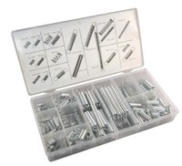 Free Shipping 200pc Steel Spring Compression Extension Spring Assortment