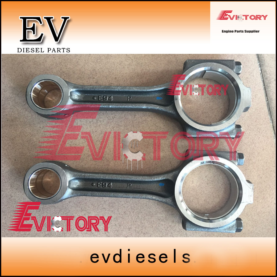 Full set genuine 4pcs 4TNV94 4TNV94L 4TNV98 4TNV98T connecting rod+con rod for yanmar B65 doosan excavatorFull set genuine 4pcs 4TNV94 4TNV94L 4TNV98 4TNV98T connecting rod+con rod for yanmar B65 doosan excavator