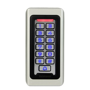 Image 2 - RETEKESS Access Control Keypad System RFID Door 125KHz 1 Access Control Keypad + 10 RFID Keyfobs Cards With 2000 Users F9501D