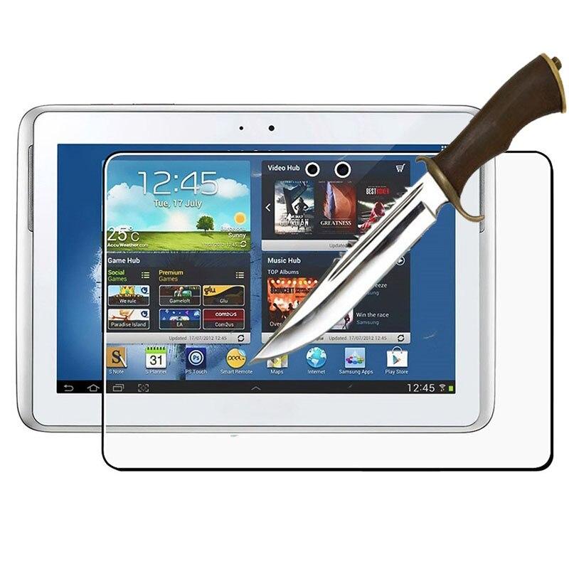 Ausgeglichenes Glas-schirm-schutz-film Für Samsung Galaxy Note 10,1 n8000 Tablet-display-schutzfolien Tablet-zubehör