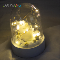 Unicorn Little Night Light LED Touch Switch Home Decorations Bookcase Children Bedroom Night Light Home Decor Creative Gift