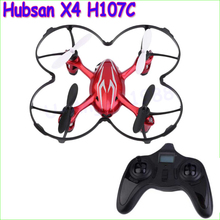 Hubsan X4 H107C 2.4G 4CH RC Helicopter Quadcopter With Camera RTF+Transmitter+Battery Mini Drones Remote Control Toys 1.1