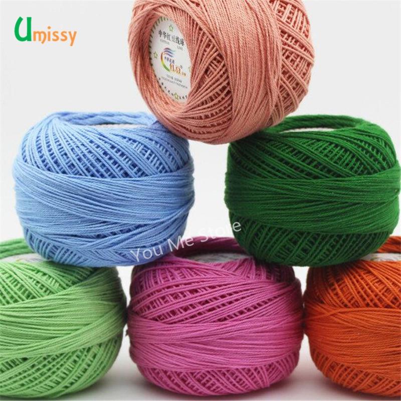 10pcs 100 Cotton Yarn 3 Lace Yarn For Crocheting Baby