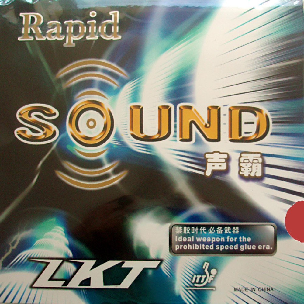 LKT KTL Rapid SOUND Pips-In Table Tennis PingPong Rubber with Sponge