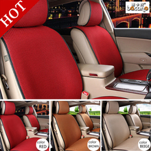BANCANO Breathable Mesh car seat covers pad fit for most cars /summer cool seats cushion Luxurious universal size