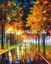 palette knife oil painting  modern oil painting canvas oil painting  K303