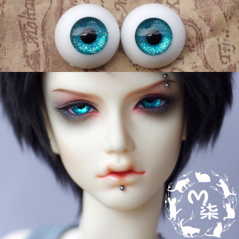 1Pair Retail New Acrylic Doll Eyes Mini Accessories BJD Eyes 14MM 16MM 18MM quisisana rimini 3 римини