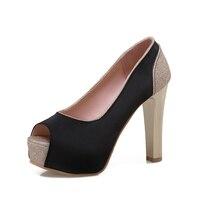 2017 Hot Sale Big Size 31 47 Women Pumps Sexy High Heels Shoes Woman Party Designer