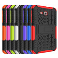 "Для Samsung Galaxy Tab 3 Lite 7.0 ""случай Dazzle Зерна 2 In1 Ударопрочный Защитная Крышка Для Samsung Galaxy Tab 3 Lite T110 T116"