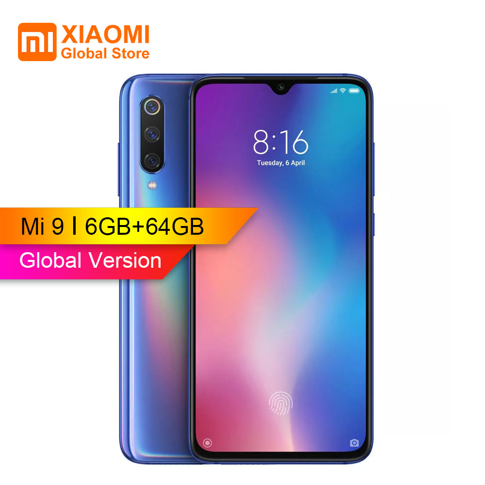 Legend Coupon Global-Version-Xiaomi-Mi9-Mi9-6GB-RAM-64GB-ROM-Cellphone-Snapdragon-855-Octa-core-6-39 Smart phone