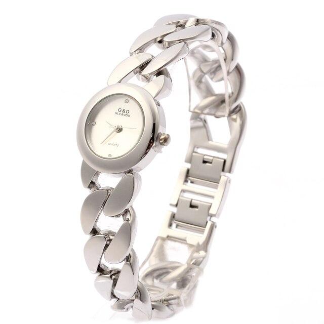 2018 Brand New G&D Women Watches Quartz Writwatches Ladies Bracelet Watch Relogi