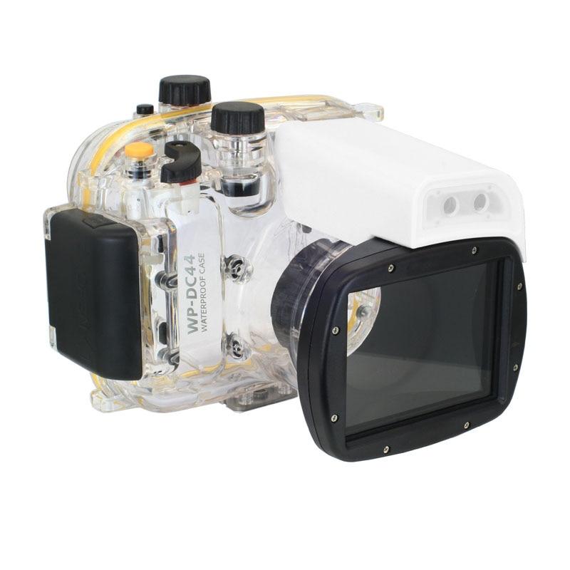 Meikon 40 м WP-DC44 Водонепроницаемый подводный Корпус случае 40 м 130FT для Canon G1X Камера (18) как WP-DC44