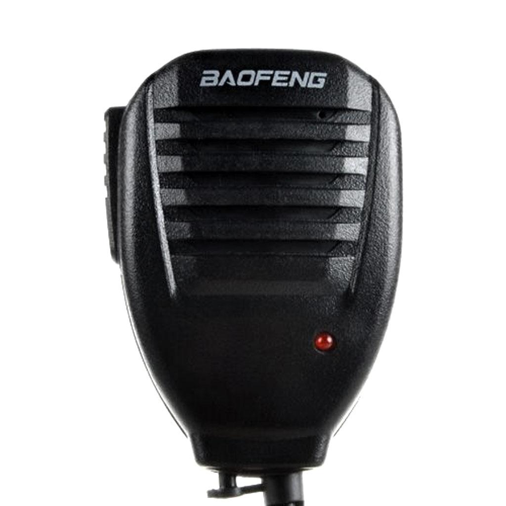 Портативная рация ручной динамик микрофон, плечевой микрофон с зажимом аксессуары для BaoFeng двухстороннее радио