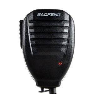 Walkie Talkie ручной динамик микрофон, плечо микрофон с зажимом аксессуары для BaoFeng двухстороннее радио