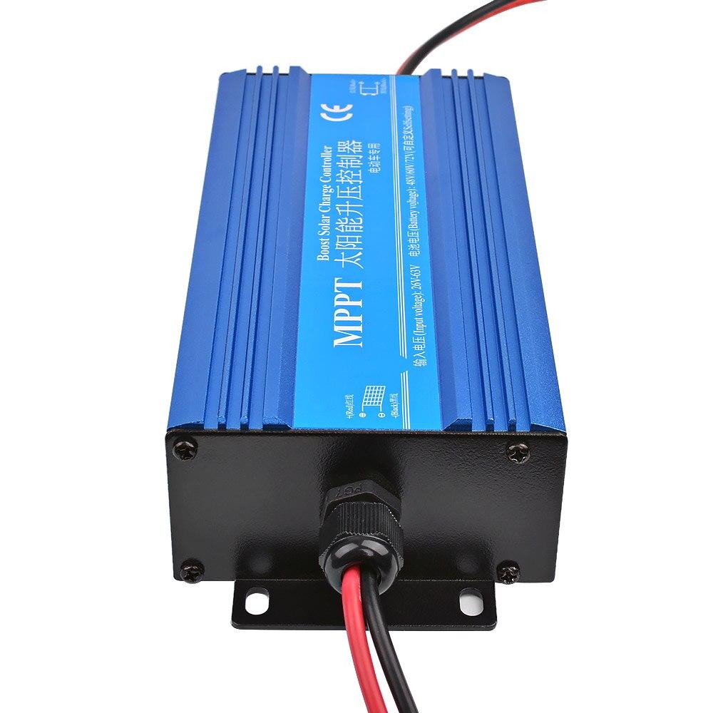 SUNYIMA MPPT Regulator ładowania słonecznego Boost Set-up ładowarka 24V 36V 72V akumulator samochodowy napięcie ładowania Regulator prądu 600