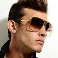 SHAUNA Homens Quadrados Do Vintage Óculos De Sol Mulheres Marca de Designer de Moda Mulheres de Ouro Liga Quadro Óculos de Sol UV400